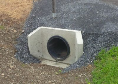 landscaping-culvert end pic